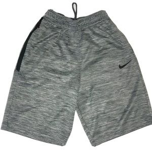 rare Nike Dri-Fit Spotlight Basketball Shorts Gray
